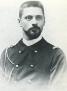 Claude Farrere as young officer