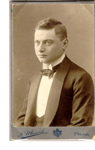 Werfel in 1909