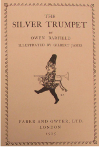 Owen Barfield The Silver Trumpet